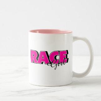 Race Girl Mugs