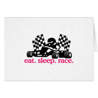 Race (Go Kart) Card