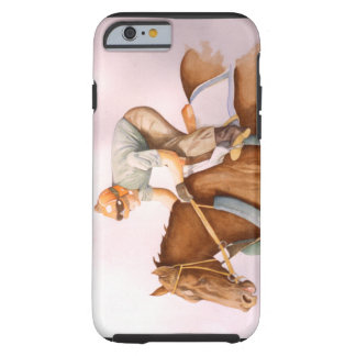 Race Horse and Jockey Tough iPhone 6 Case