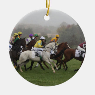 Race Horse Field Ornament