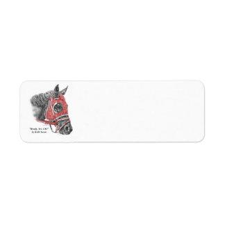 Race Horse Portrait Silks