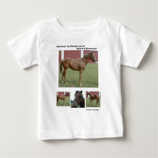 RACE HORSE SHORT SLEEVE T-SHIRT INFANT BABY