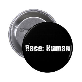 Race: Human 6 Cm Round Badge