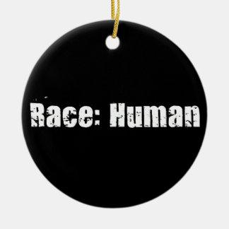 Race: Human Christmas Ornament