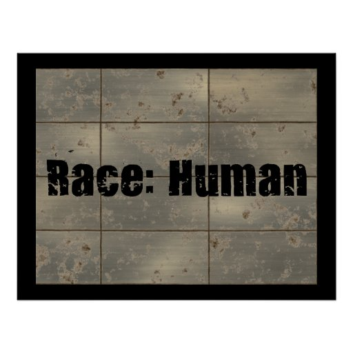Race: Human Poster