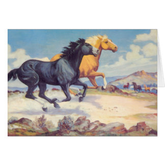 Race Of The Stallions  Card