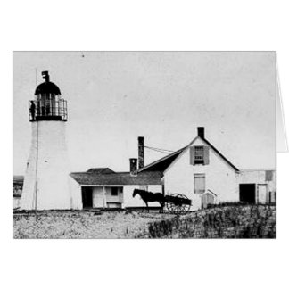 Race Point Lighthouse 2 Greeting Card