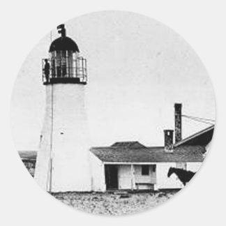 Race Point Lighthouse 2 Round Sticker