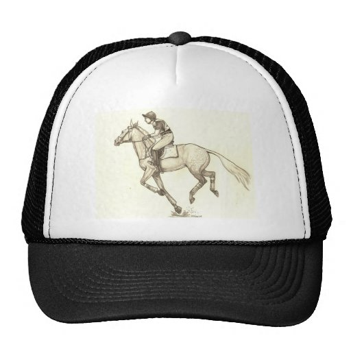 RACE TO FINISH Cross-Country Eventing Hat