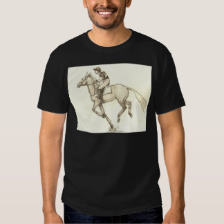 RACE TO FINISH Cross-Country Eventing T Shirt