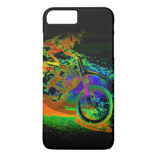 Race to the Finish! - Motocross Racer iPhone 8 Plus/7 Plus Case