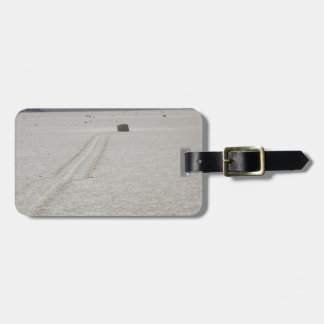Race track tags for luggage