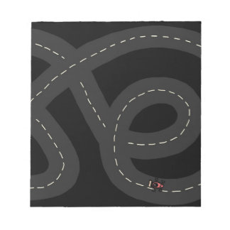 Race Track Notepad