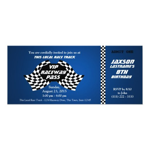 Vip Pass Invitations is awesome invitations sample