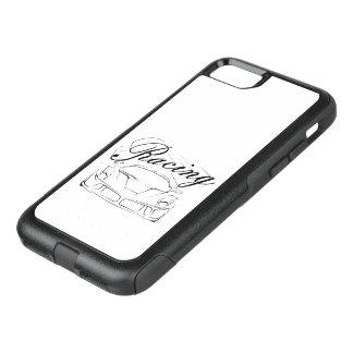 Racecar in tribals - Racing... OtterBox Commuter iPhone 7 Case