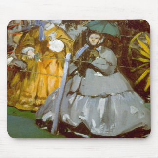 Racecourse by Edouard Manet Mouse Pad