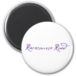Racecourse Road 6 Cm Round Magnet