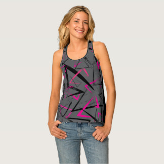 "Racer Back Tank Top with ""Jude's Revenge"" design"