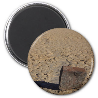 Racetrack Playa Sliding Stones Mud Refrigerator Magnet
