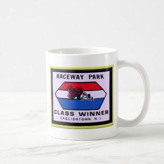 Raceway Park Basic White Mug