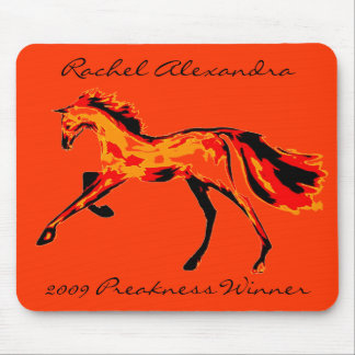 Rachel Alexandra - 2009 Preakness Winner Mouse Mat