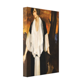 Rachel Strong by Léon Bakst 1924 Gallery Wrapped Canvas