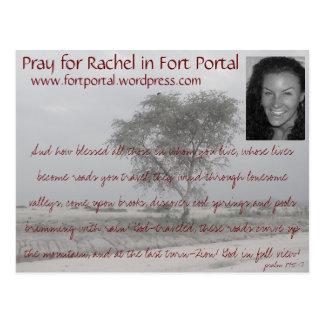 Rachels Prayer Card