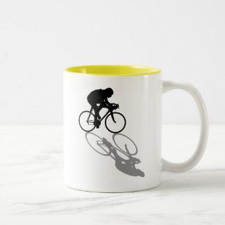 Racing Bike Cyclists Cycling Sports fan gift Two-Tone Coffee Mug