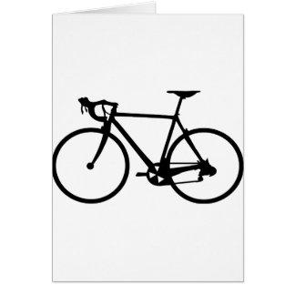 racing bike - racer bicycle cards
