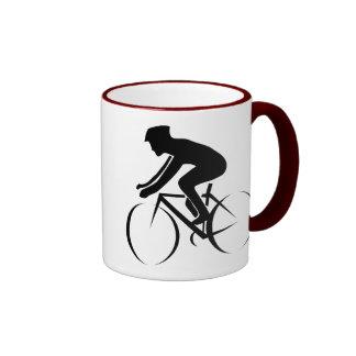 Racing Bike Ringer Mug