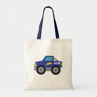 Racing Blue Monster Truck, for Boys Bag