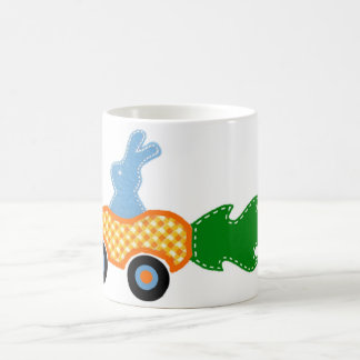 Racing Bunny Coffee Mug