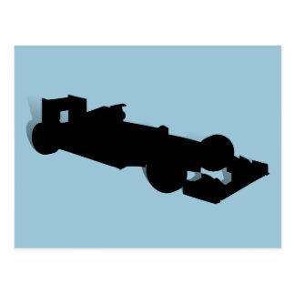 Racing Car_3 Postcard