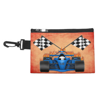 Racing Car Clip On Accessory Bag