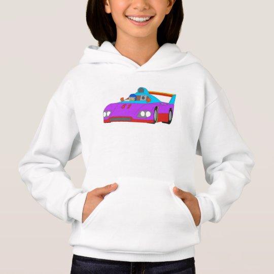 Racing car hoodie