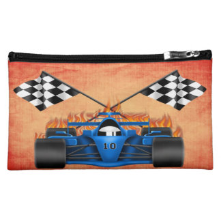 Racing Car Medium Cosmetic Bag