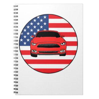 Racing car notebook