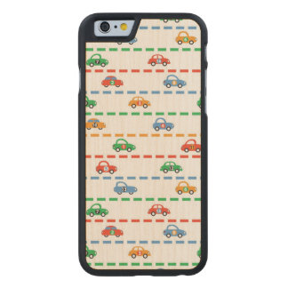 Racing Cars Carved® Maple iPhone 6 Case