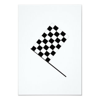 Racing Checkered Flag Personalized Announcements