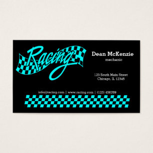 Mechanic business cards business card printing zazzle uk racing choose your background colour business card colourmoves