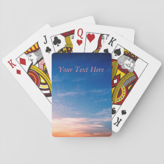 Racing Clouds Playing Cards