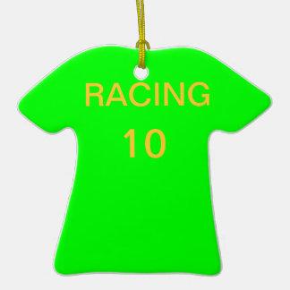 Racing Christmas Tree Ornament