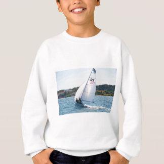 Racing Dinghy At Speed Sweatshirt