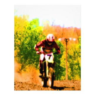 Racing Dirtbike Daredevil Flyer