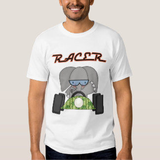Racing Elephant T-shirts and Gifts