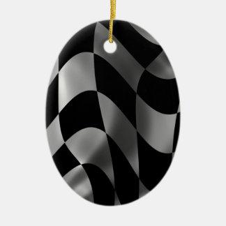 Racing Flag Ornament