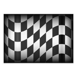 Racing Flag Custom Announcements