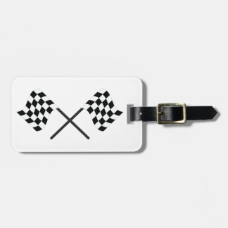 Racing Flags Luggage Tag