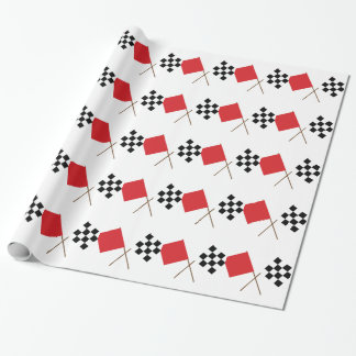 Racing Flags Wrapping Paper