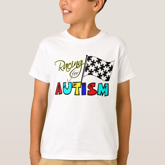 Racing for Autism - youthTee T-Shirt